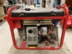 Generac 4000XL petrol generator model 9973-0