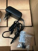80 x chargers/power supplies for a kit for Raspberry PI and Heatsink black