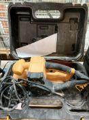 JCB B5900F belt sander 900w - 240v in case