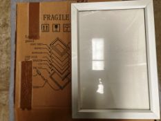 2 x A3 LED light illuminated snap boards (1 outer box)