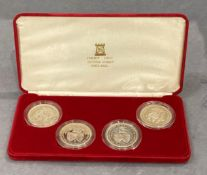 Quincentenary of the Colleage of Arms - 4 coin set
