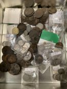 Mixed collection of British coins & crowns