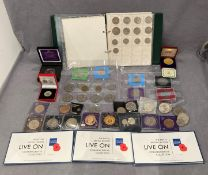 Mixed selection of coins