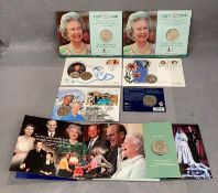 Collection of £5 FDCs