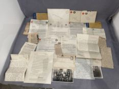 WW1 Naval Papers & letters