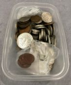 Mixed collection of coins