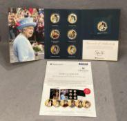 HM The Queen's Coronation 65th Anniversary Commemorative coin set