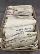1902 - 1967 British coin collection in envelopes Further Information Contains