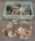 Mixed world coin collection - 19th & 20th century