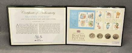 Beatrix Potter - FDC coin set