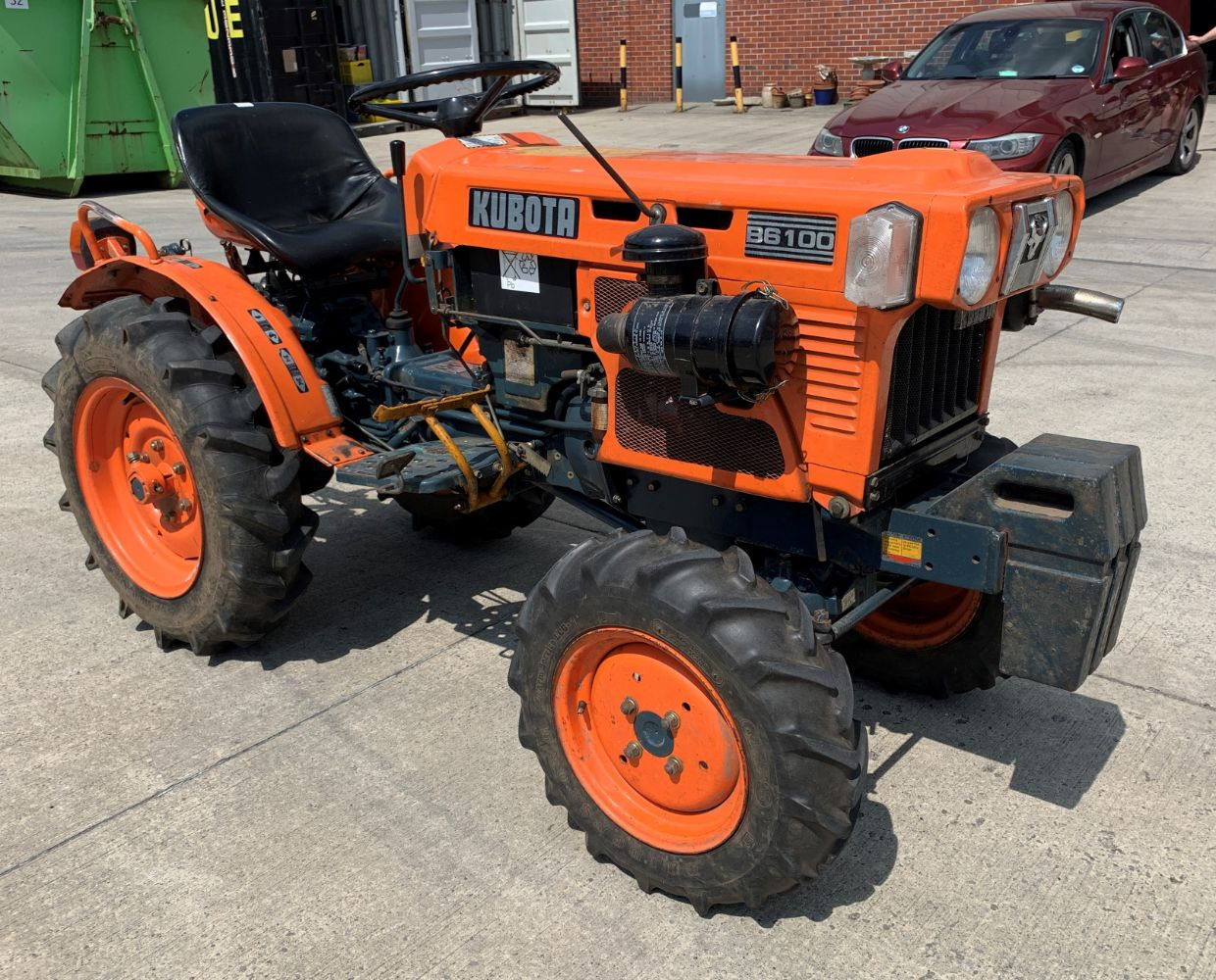 Vehicles, Kubota Tractor and Tractor Attachments