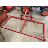 A DW TOMLIN MOUNTED CHAIN HARROW (2 section) with the chain - each section 2m x 1m *Please note,