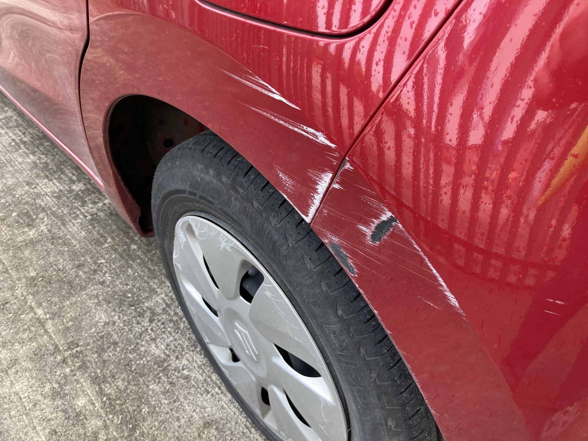 ON INSTRUCTIONS OF THE INSOLVENCY SERVICE SUZUKI CELERIO SZ2 5 door hatchback - petrol - red Reg - Image 5 of 15