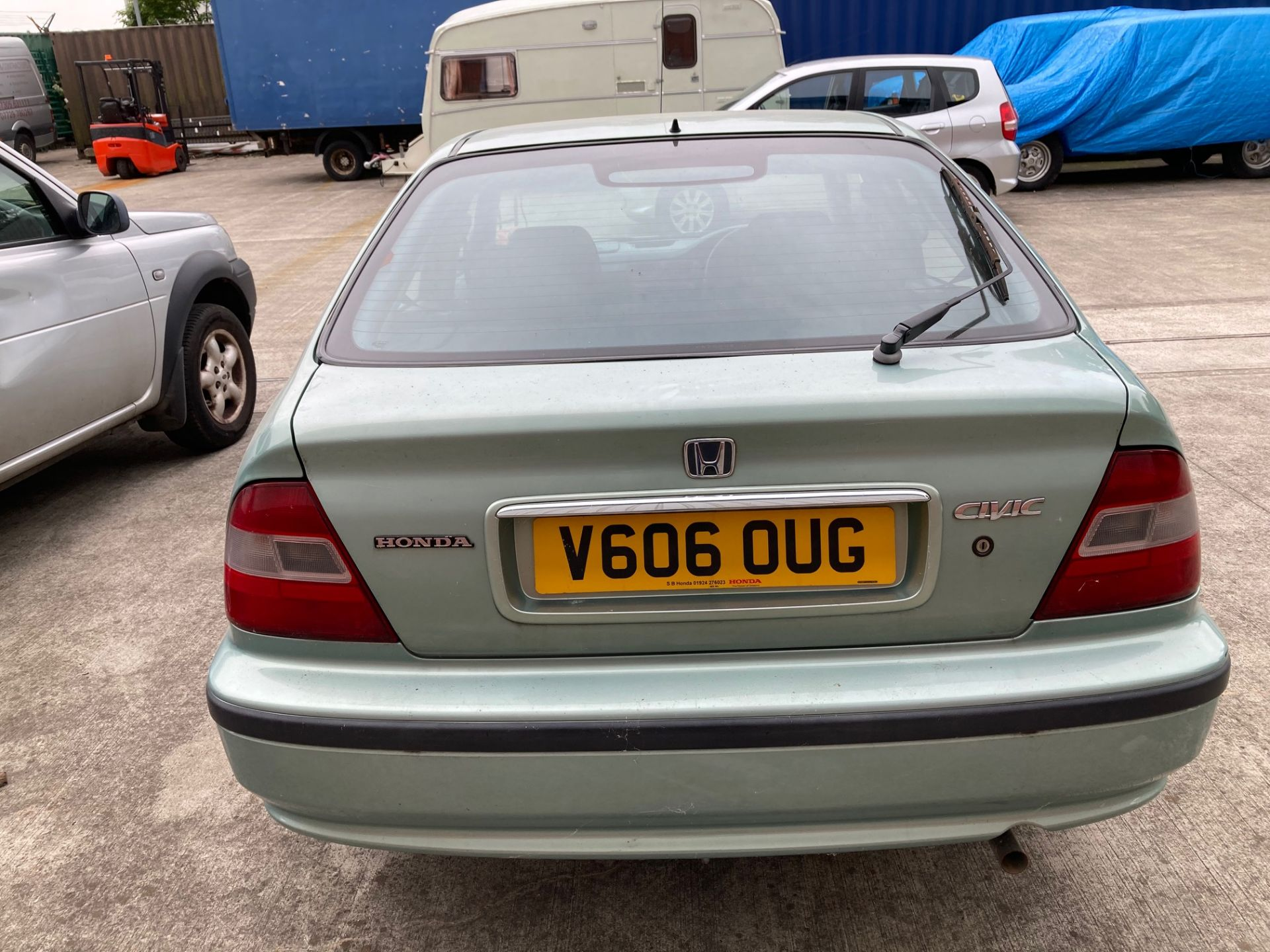FROM A DECEASED ESTATE HONDA CIVIC 1. - Image 4 of 8