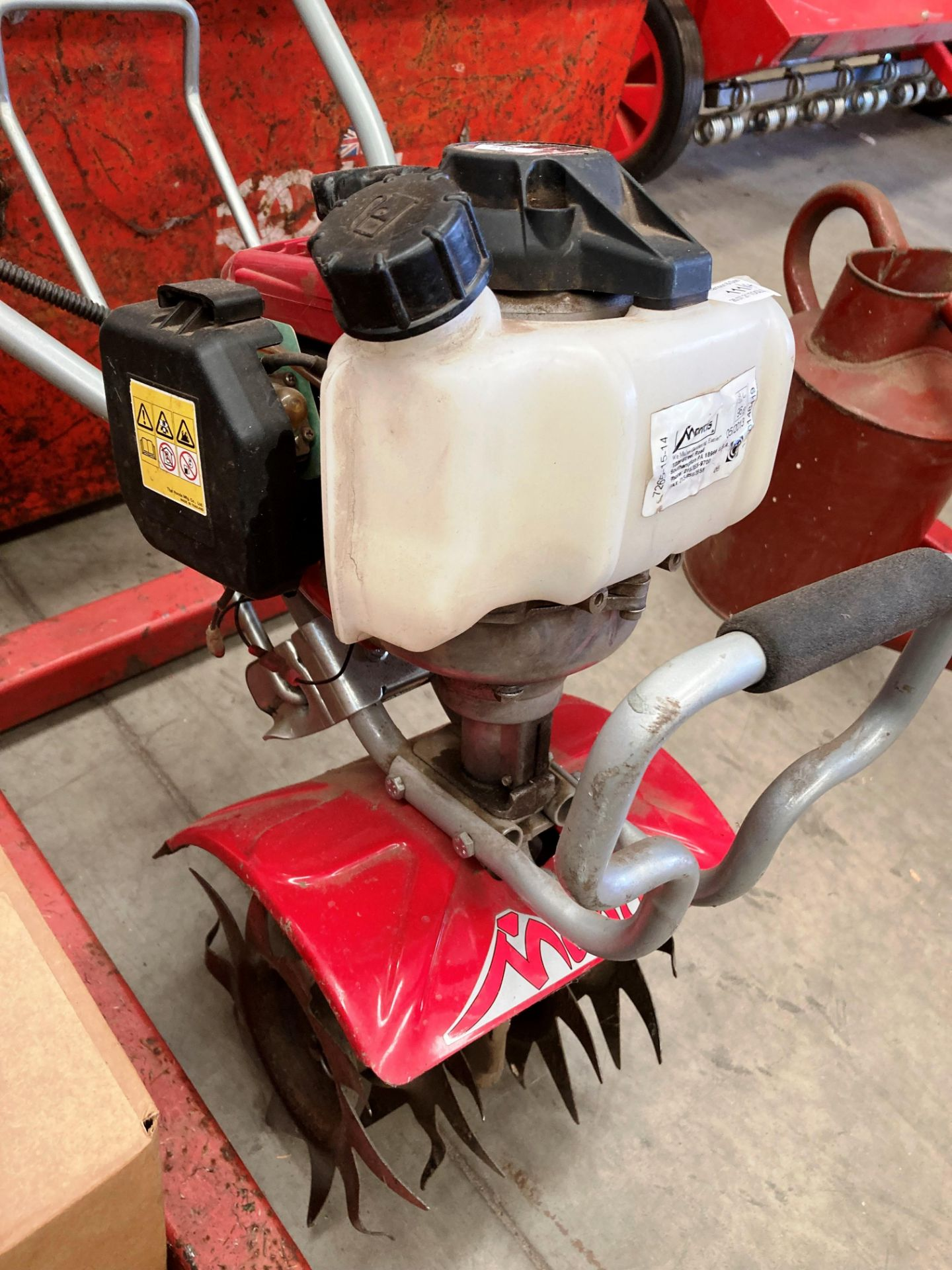 A MANTIS cultivator/tiller with Honda GX25 petrol engine, date of manufacture 05/2013, - Image 2 of 5