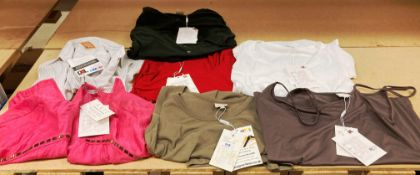 7 x assorted vest tops and others by In Wear, Arte Maxima, etc.