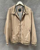 A James Pringle gentleman's beige leisure jacket,