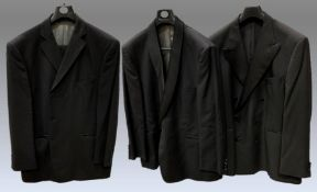 3 items - a M&S two piece suit, 100% wool, jacket size 48,