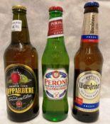 Eleven x 330ml bottles of Peroni Gluten Free lager,