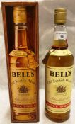 A 75cl bottle of Bell's Old Scotch Whisky (40% vol) in presentation box