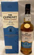 A 700ml bottle of The Glenlivet Founders Reserve Single Malt Scotch whisky (40% vol) in a