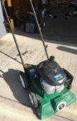 A Billy Goat petrol leaf vacuum with Honda GCV135 4.