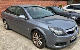 ON INSTRUCTIONS OF A RETAINED CLIENT VAUXHALL VECTRA 1.