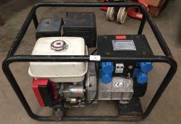 A Stephill Generators portable petrol generator 3.