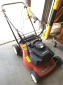 A Mountfield SP454 45cm rotary self propelled petrol lawnmower with a V35 150cc engine - no grass