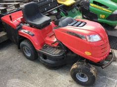 Mountfield 1430H petrol ride on mower complete with collection box - no keys,
