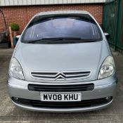 ON INSTRUCTIONS OF A RETAINED CLIENT CITROEN XSARA PICASSO DESIRE 1.