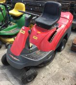 CASTLE GARDEN XF 130HD ride on petrol mower with back collection box - no keys - sold as spares and