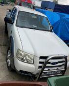 ON INSTRUCTIONS OF AN ENFORCEMENT OFFICER FORD RANGER 2.5 Tdci PICK UP - diesel - white/grey Reg.