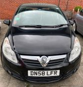 ON INSTRUCTIONS OF A RETAINED CLIENT VAUXHALL CORSA DESIGN 1364cc 5 door hatchback - petrol -