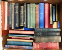 Contents to box approximately 25 books mainly relating to Dental Surgery and Practice Dowsett