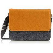 3 x Urban Country Messenger Bag Hunter Bag - Mustard/Grey RRP 42.