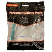 150 Essential Gear Personal Hygiene packs RRP 3.