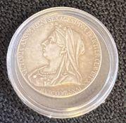 Queen Victoria Diamond Jubilee medallion