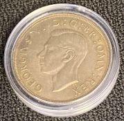 1937 George VI Crown coin