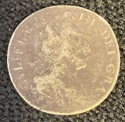 1697 William III sixpence