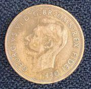 Scarce 1950 British Penny