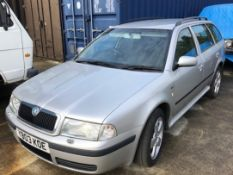 SKODA OCTAVIA ELEGANCE 1.9 Tdi Estate - diesel - silver On instructions of a retained client.