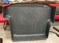 A Volkswagen/Audi heavy duty boot load liner approximately 46cm wide x 39cm long