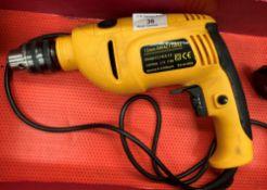 A Jumbo Tech 13mm impact drill - 240v