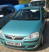 VAUXHALL CORSA LIFE TWINPORT 1.0 five door hatchback - petrol - green.