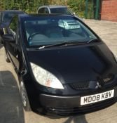 MITSUBISHI COLT 1.5 CZC1 CONVERTIBLE - petrol - black. On instructions of a retained client.