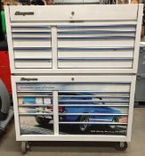 Snap-on mobile tool chest - chest on chest - model KRA2410 1PMP,