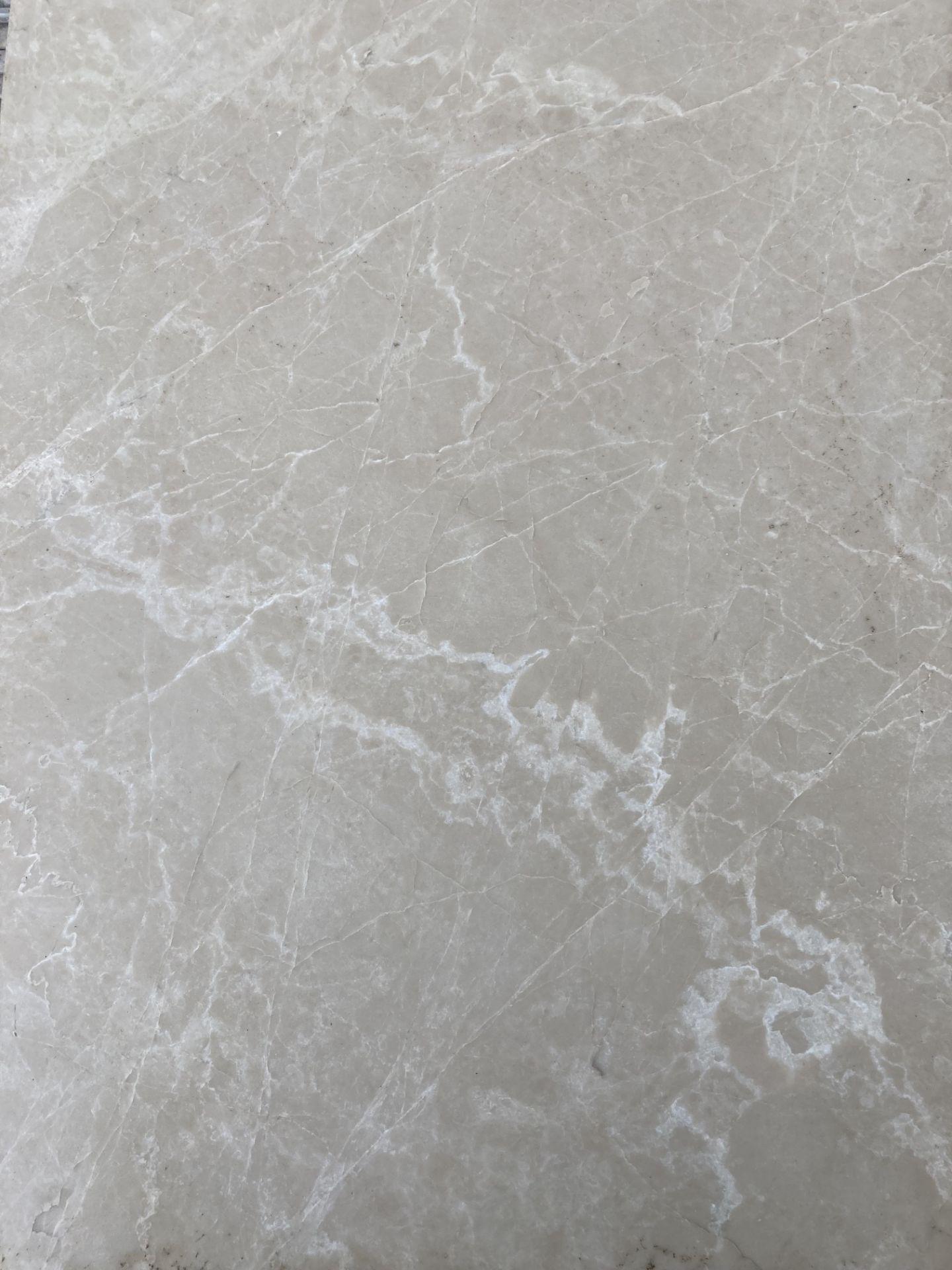 30 x packs of 4 marble tiles in Rosoni beige - 600 x 400 x 1.