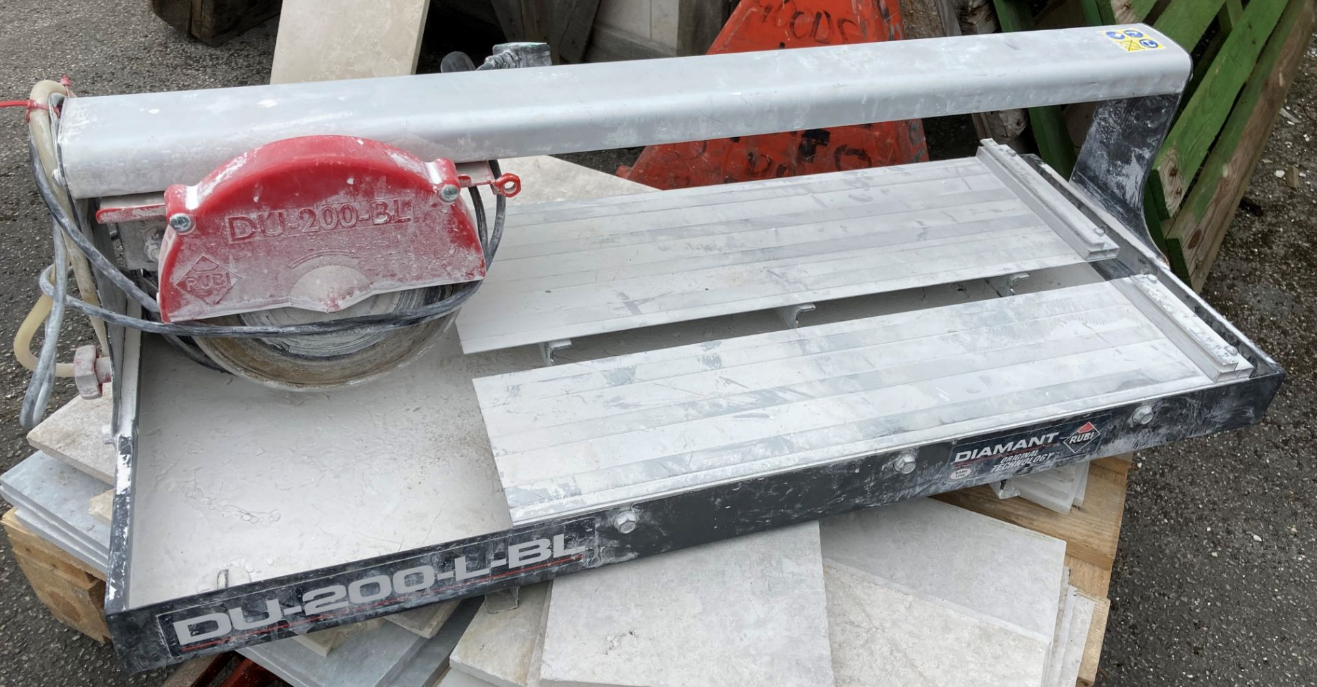 RUBI DIAMANT DU-200-BL cutting bed 60cm 240v tile cutter