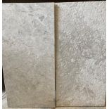 15 x assorted packs of 4 marble tiles - 30 x 60 x 1.